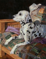 Daisy was a much loved, exquisite Dalmation